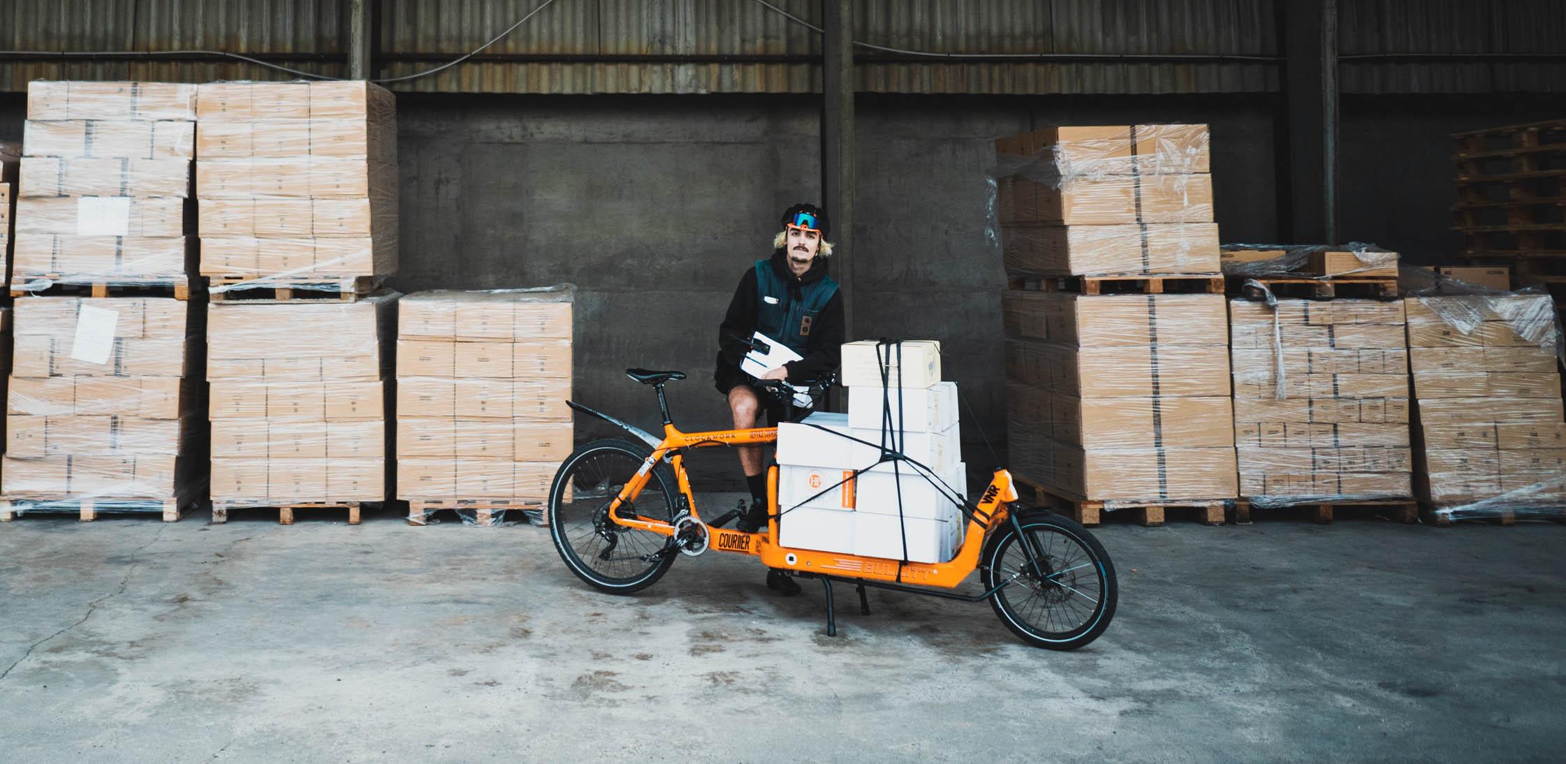vin, caviste, livraison à vélo, bordeaux